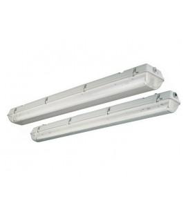 Écran étanche à l'eau pour deux tubes LED Roblan