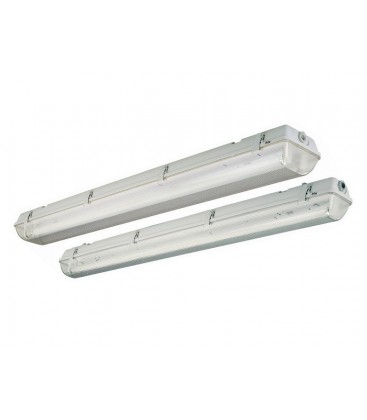 Watertight for two LED tubes Roblan