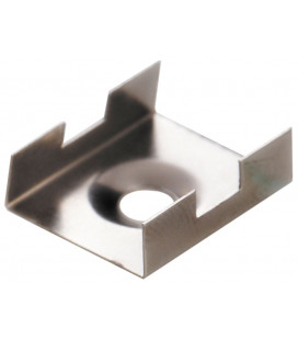 Clamp for fixing stainless steel for profile valid for models LEIRO and MINHO