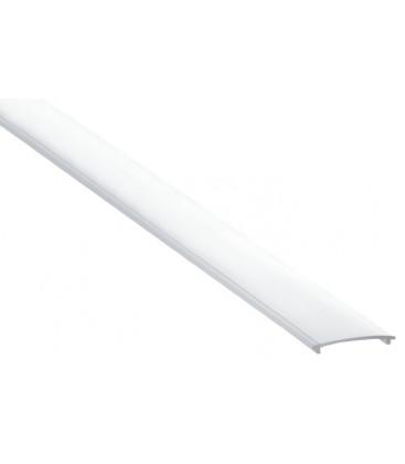 Difusor de policarbonato para tira led EASY-ON de Luz Negra