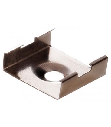Pince de fixation en acier inoxydable pour profil valide pour les modèles LEIRO XL et XL MINO
