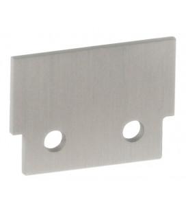 Tapa de aluminio para perfil INFERNO de Luz Negra