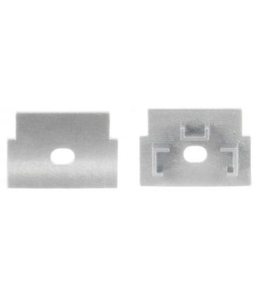 Couvercle en aluminium pour profil INFERNO de Luz Negra