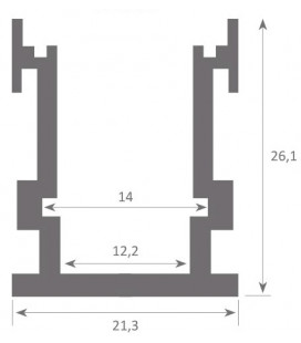 Profil pour escalier DUBLIN XL de Luz Negra
