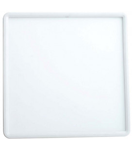 Adjustable square LED downlight 20W 50-200 mm by Roblan