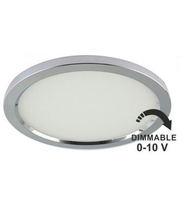 Downlight redondo cromo 0-10V LC1482R de YLD