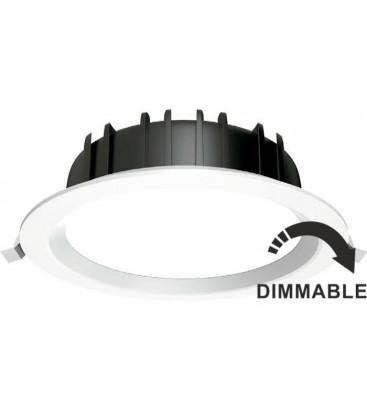 Downlight LED Redondo 28W dimmable de Roblan