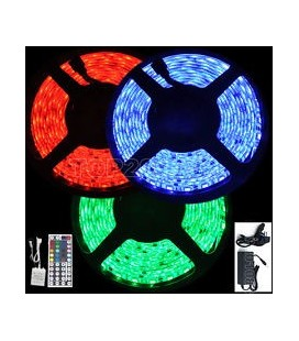 Tira LED 12V RGB 7.2 W/m IP67 de Roblan