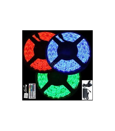 Tira LED RGB de 7.2 watios/m. IP67 a 12V de Roblan