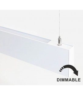 Hanging lamp DUAL LED 24+28W by Beneito Faure