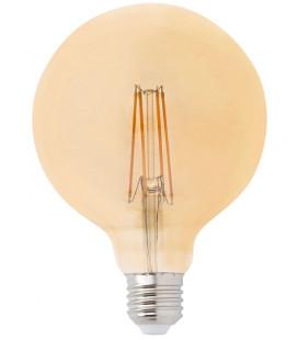 Globo LED ámbar con filamento 4W 125mm de Faro Barcelona