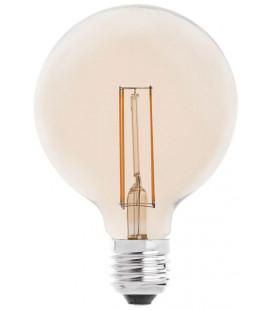 Amber LED globe 4W 95mm by Faro Barcelona