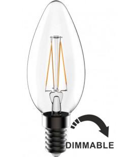 Vela LED Vintage 5W dimmable de Roblan
