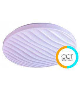 Plafón redondo SILVY tonalidad regulable 72W de Cristal Record