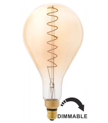 Bombilla LED con filamento A160 ámbar 5W de Faro Barcelona