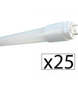 Pack 25 tube LED T8 FILM 18W 120cm de Roblan