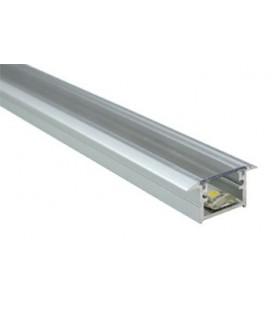 Perfil de aluminio para empotrar Berlín XL de Luz Negra
