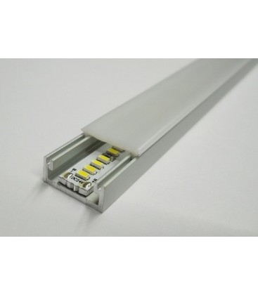 Perfil de aluminio para colocar en superfícies modelo MIÑO MINI