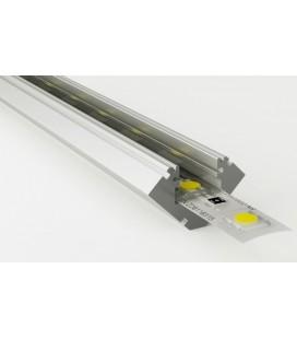 Perfil de aluminio esquinas 45º Sophia XL de Luz Negra