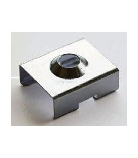 Clamp for fixing stainless steel for profile valid model PERBES