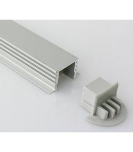 Capuchon d'extrémité pour modèle encastré profil LEIRO XL