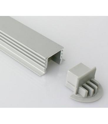 Tapa final para perfil de empotrar modelo LEIRO XL