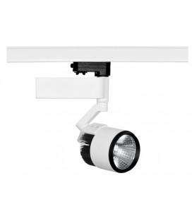 Foco carril PRO 17W 110-240V 20º LED BRIDGELUX de Beneito Faure