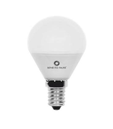 Bombilla LED esférica 5W conexión E27/E14 de Beneito Faure