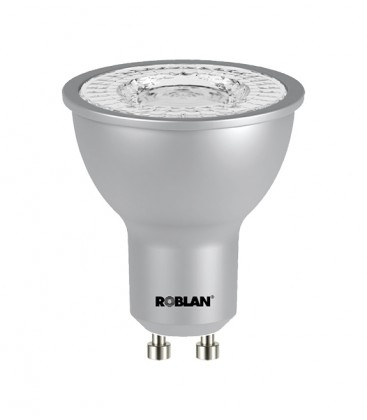 Bulb Dichroic ECO Economic COB LED GU10 and 98 º opening Roblan 8W Power