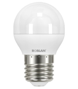 Spherical bulb LED SKY A15 6W E27 or E14 for Roblan connection