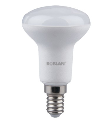 Connexion de l'ampoule E14 6W LED R50 Roblan la lumière