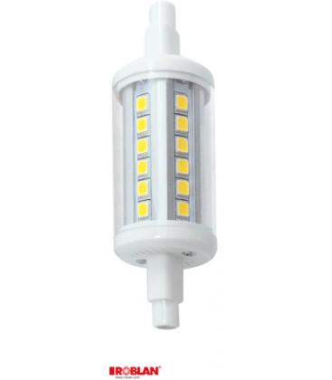 Lámpara LED R7S 78mm 5W de Roblan