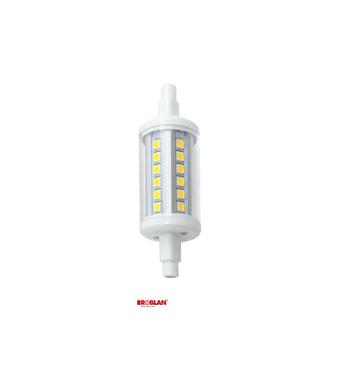 Lamp led r7s 78mm 5w of roblan for Led r7s 78mm osram