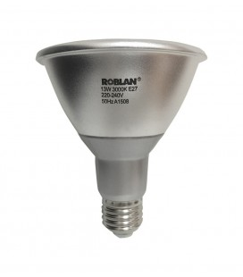 Ampoule dimmable LED PAR30 puissance 13W connexion E27 de Roblan