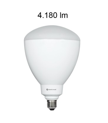 Ampoule LED CUP 45W , coulot E40/E27 ANGLE 100º de Beneito Faure