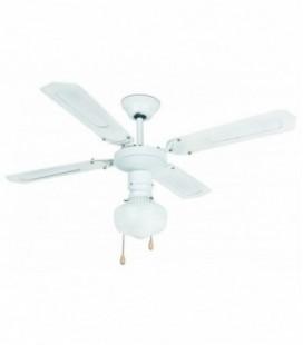 Ventilateur sans lumière Aruba diamètre 106cm 4 lames 1 L E27 60W Faro