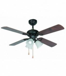 Ventilateur avec lumière Lisbonne diametro107cm 4 Palas 3L E27 60W Faro