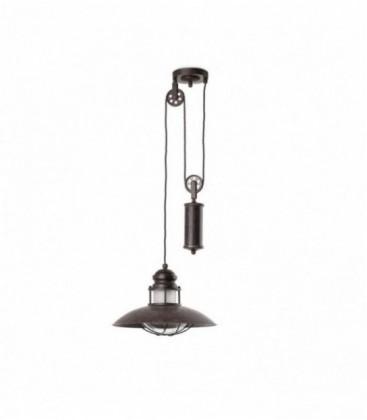 Lámpara colgante con peso WINCH de Faro Barcelona