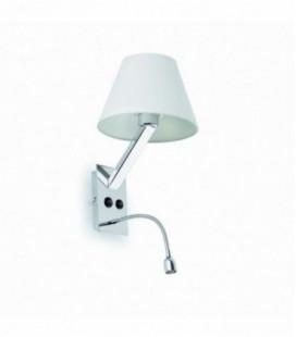 Lampe murale MoMA-2 lecteur de 60W E27 LED