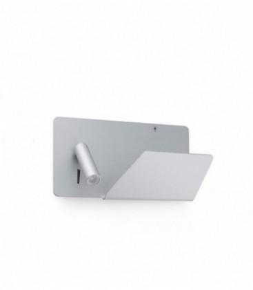 Aplique Suau con entrada USB de Faro Barcelona