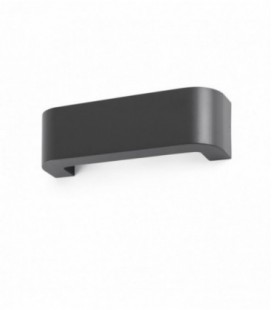 Bracket apply dark grey LED 6W 3000K