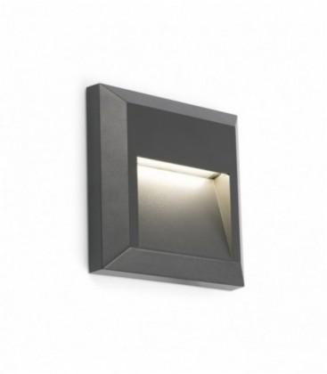 Grant-C appliquer foncé gris LED 1W 3000K