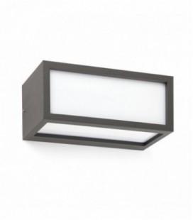 Yew dark grey Wall lamp 20W E27