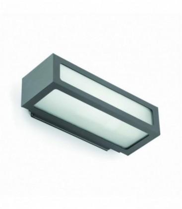 Natron appliquer gris de Ip54 1L E27 100W