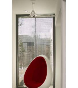 Fan without light Mini Eterfan 128 3 Crystal diameter blades Lighthouse borosilicate