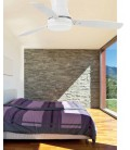 Ventilateur avec lumière Tonsay diamètre 213 cm 2XE27 15W 3 Palas de Faro