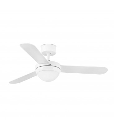 Fan with light Faroe diameter 106 cm 3 blades 2Xe14 40W of Faro