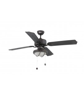 Fan with light iron diameter 213cm 4 blade 1 X E27 60W headlamp