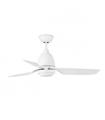 Fan with light Fogo diameter 112 cm 3 Palas LED 12W Faro