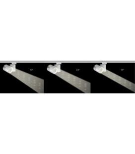 foco carril RUM 33W 110-240V 50º (24º o 15º) LED de Beneito Faure